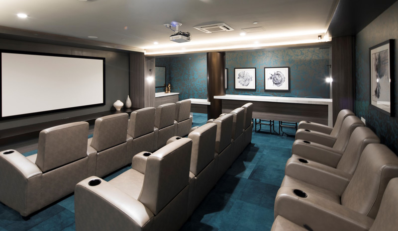 Apartments with Movie Theater