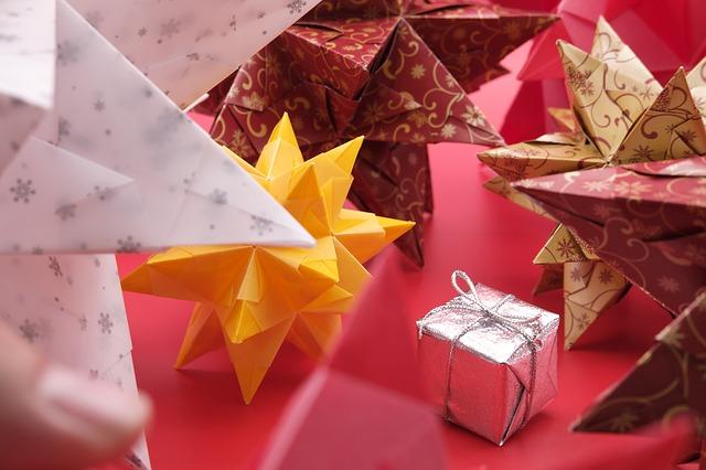 gift box and stars